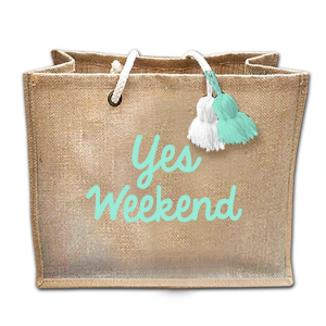 Yes Weekend - Sac en Toile de Jute