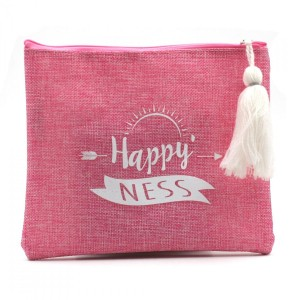 Happy Ness - Pochette en Toile de Jute