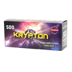 Boites de 500 Tubes King Size - Krypton