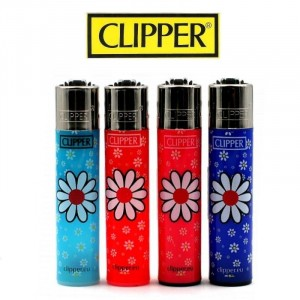 Lot de 4 briquets Clipper - Daisies 6