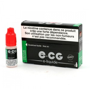 Lot de 5 Flacons E-CG - Menthe Chloro 11 mg/ml