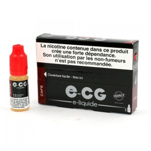 Lot de 5 Flacons E-CG - Café 11 mg/ml