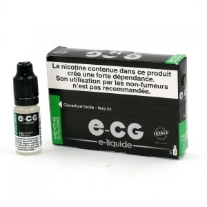 Lot de 5 Flacons E-CG - Menthe Chloro 16 mg/ml