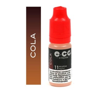 E-liquide E-CG - Cola 11 mg/ml