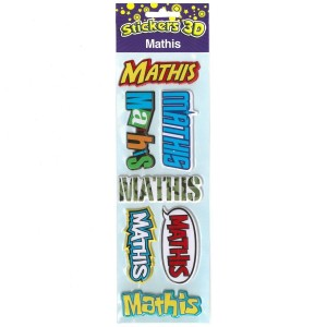 Stickers 3D Mathis