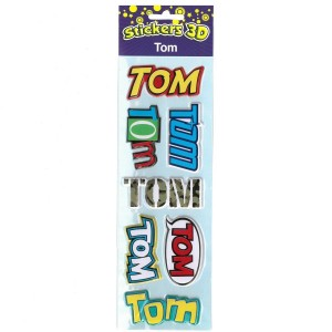 Stickers 3D Tom