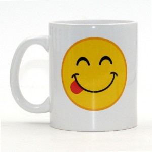 Mug Humoristique Emoticône Tire la Langue
