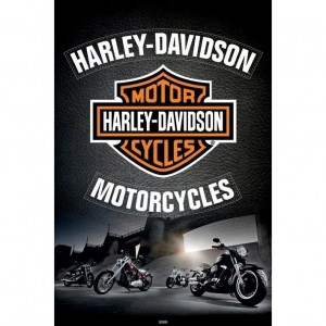 Harley Davidson pack posters Leather 61 x 91 cm