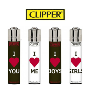 Lot de 4 Briquets Clipper - Activity pride