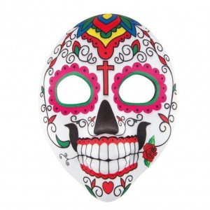 Masque adulte en tissu day of the dead