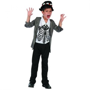Costume Enfant Zombie Taille 5-6 ans (S)