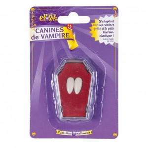Canine de vampire fixation thermoplastique