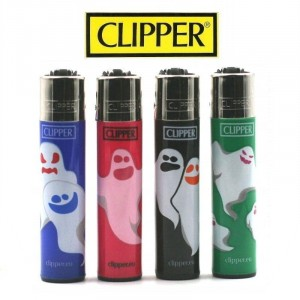 Lot de 4 Briquets Clipper - Phantom