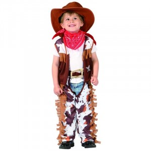 Costume Baby Cow Boy -  Taille 3-4 ans (92-104 cm)