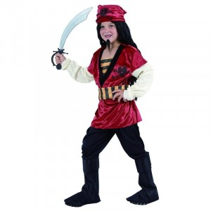 Costume Enfant Pirate Taille 5-6 ans (S)