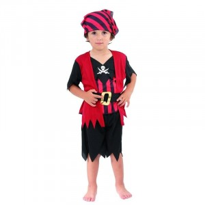 Costume Baby Pirate - Taille 3-4 ans (92-104 cm)