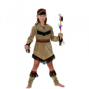 Costume Enfant Indienne - Taille 7-9 ans (M)