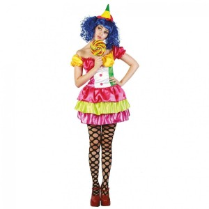 Costume Clown Sexy - Taille S/M