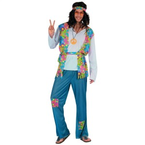 Costume Hippie  - Taille adulte