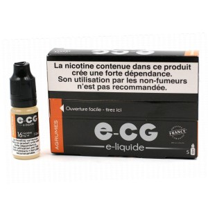 Lot de 5 Flacons E-CG - Goût Agrumes 16 mg/ml