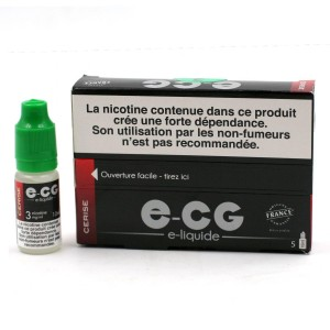 Lot de 5 Flacons E-CG - Goût Cerise 3 mg/ml