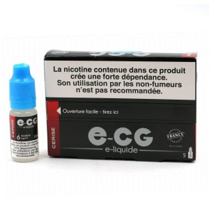 Lot de 5 Flacons E-CG - Goût Cerise 6 mg/ml