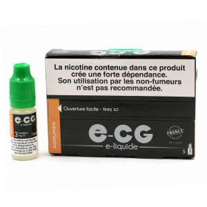 Lot de 5 Flacons E-CG - Goût Agrumes 3 mg/ml
