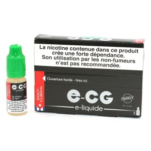 Lot de 5 Flacons E-CG - Goût Cubain 3 mg/ml