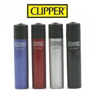 Lot de 4 Briquets Clipper – Cristal 1