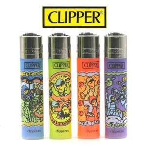 Lot de 4 Briquets Clipper – Camilescruela