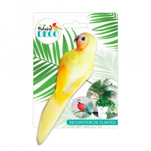 Déco Plantes – Medium Oiseau Jaune CD3828