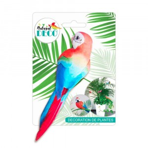 Déco Plantes – Medium Oiseau Rouge CD3829