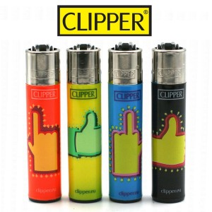 Lot de 4 Briquets Clipper – Fingers