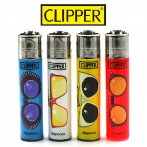 Lot de 4 Briquets Clipper – Sunglass