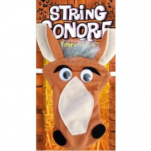 String Sonore pour Homme - String Cheval