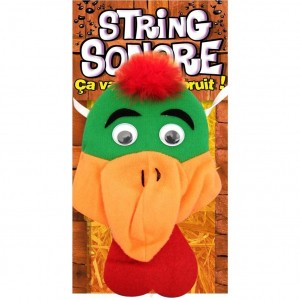 String Sonore pour Homme - String Coq