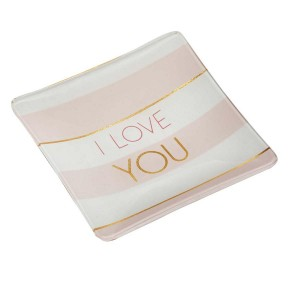 Vide Poche en Verre Draeger – I Love You