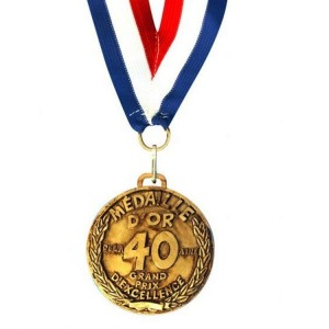 Medaille D'or 40 ans