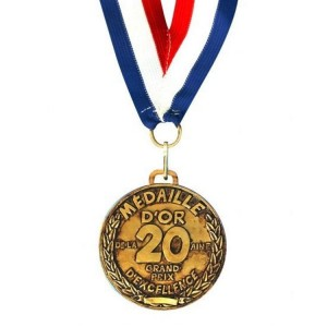 Medaille D'or 20 ans