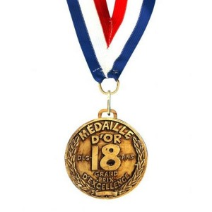 Medaille D'or 18 ans