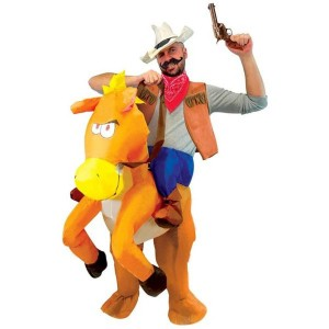 Costume Auto Gonflable – A Dos de Cheval