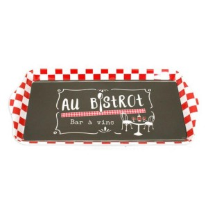 Plateau Collection AU BISTROT – 15 x 30,5 cm