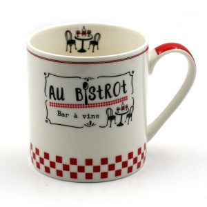 Mug Collection Au Bistrot – Modèle 1