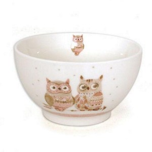Bol Porcelaine Chouette -Astrid- Sweet Home