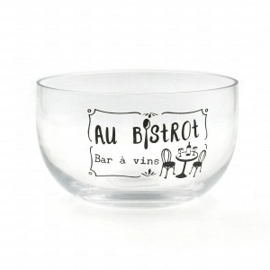 Bol - Diamètre 13.5 cm - Collection AU BISTROT
