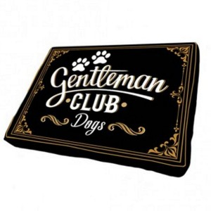 Coussin Animaux - gentleman club dog -