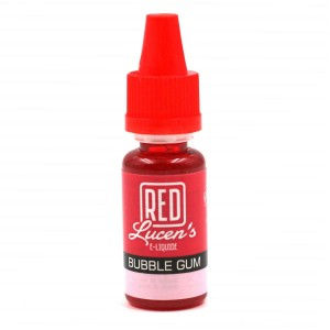 E-Liquide RED LUCEN'S – Bubble Gum 0 mg