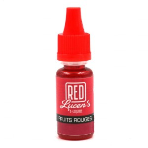 E-Liquide RED LUCEN'S – Fruits Rouges 0 mg