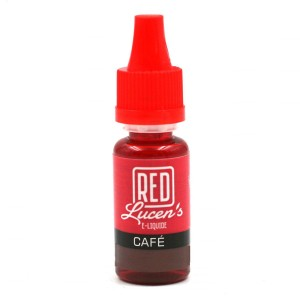 E-Liquide RED LUCEN'S – Café 0 mg