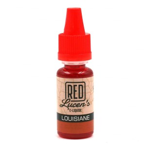 E-Liquide RED LUCEN'S – Louisiane 0 mg